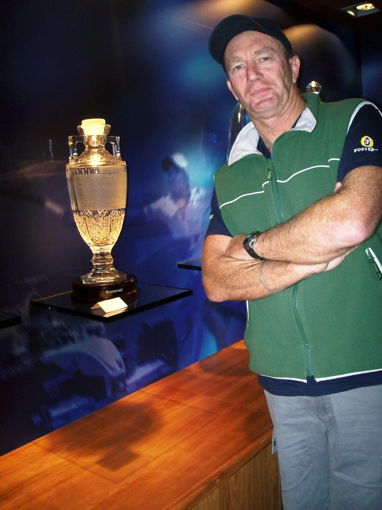 Waterford Crystal Ashes Trophy Replica, Waterford, Ireland