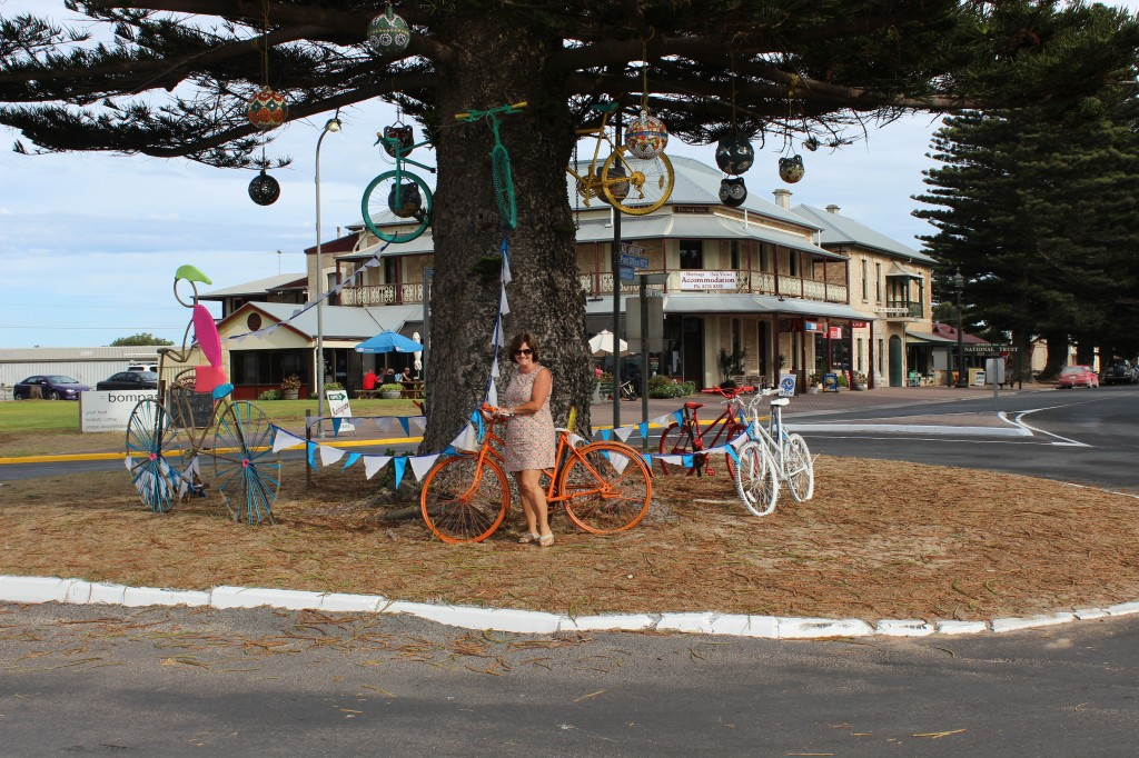 Bicycle Tree at Beachport
