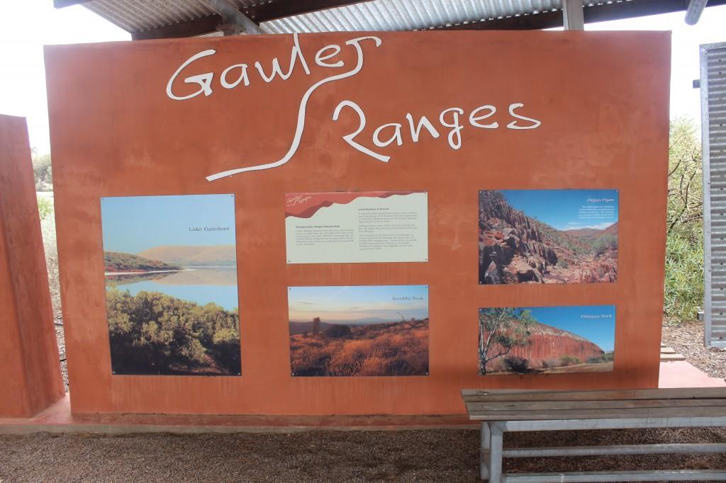 Gawler Ranges Sign, Minnipa