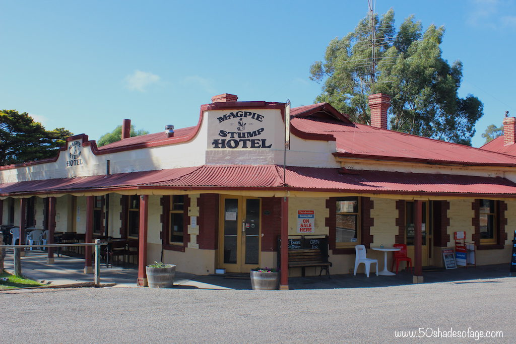 The unique Magpie & Stump Pub