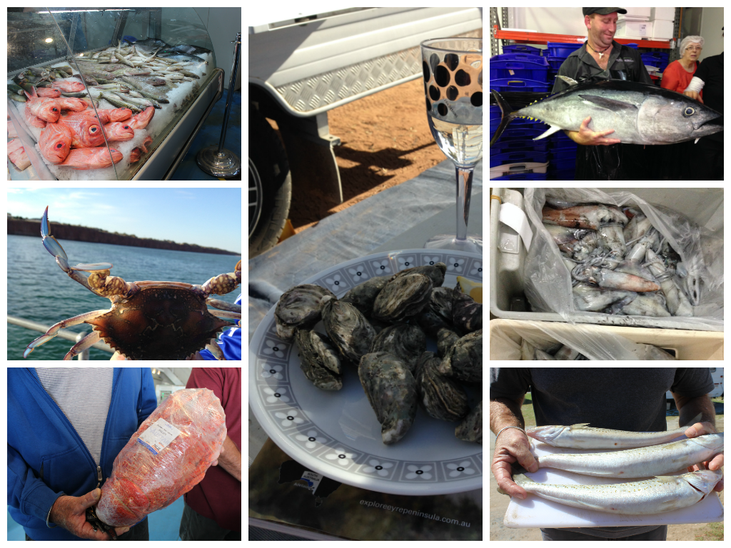 Seafood of the Eyre Peninsula