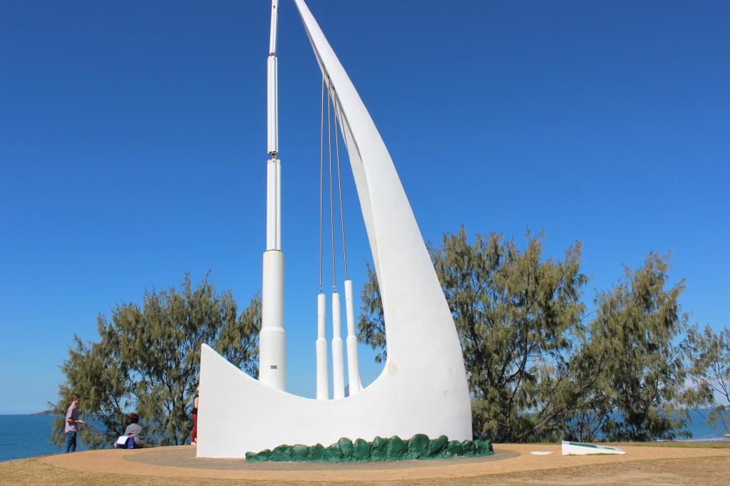 The 'Singing Ship', Emu Park