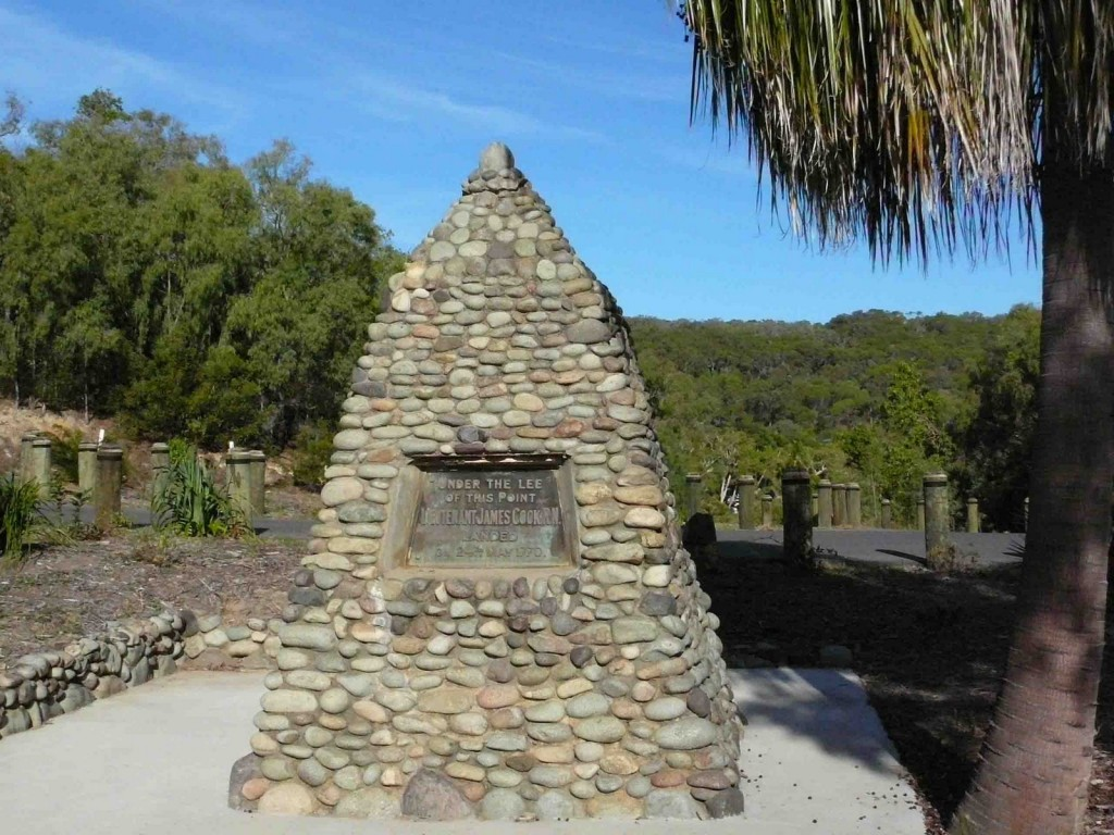 Lt James Cook Monument