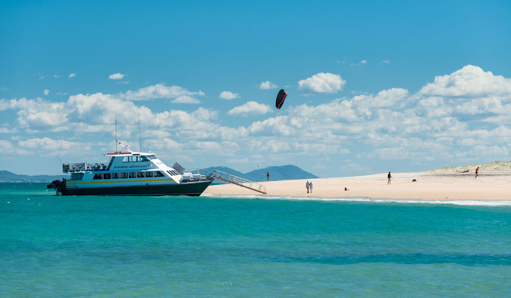Boat Cruise off Great Keppel Island