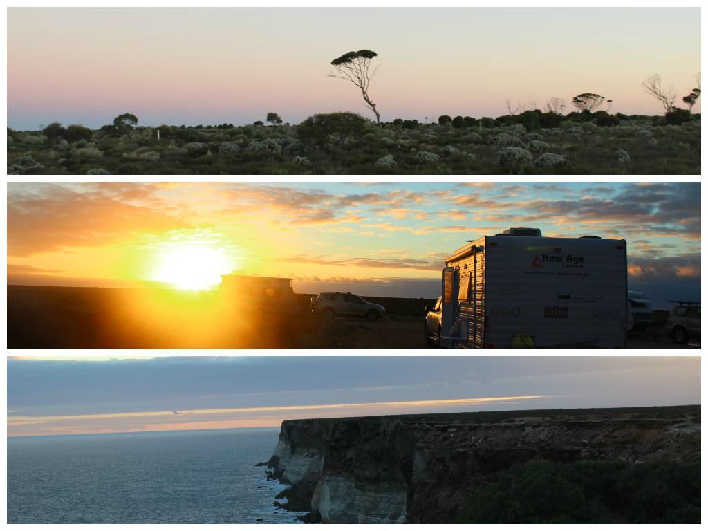 Sunset & Sunrise in The Nullarbor, WA