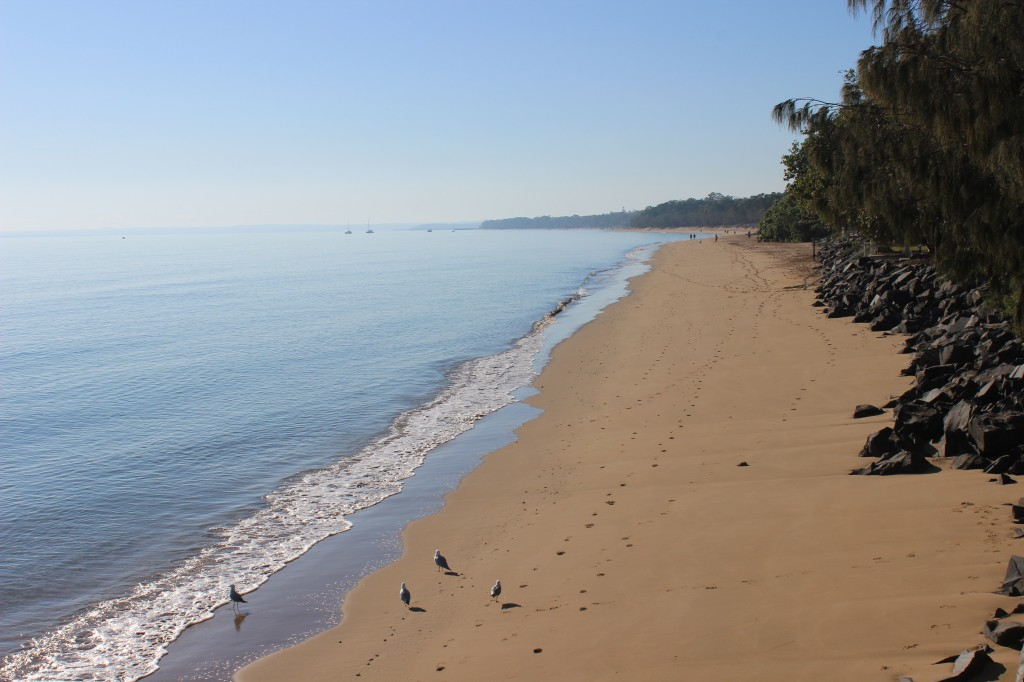 Calm Waters of Hervey Bay