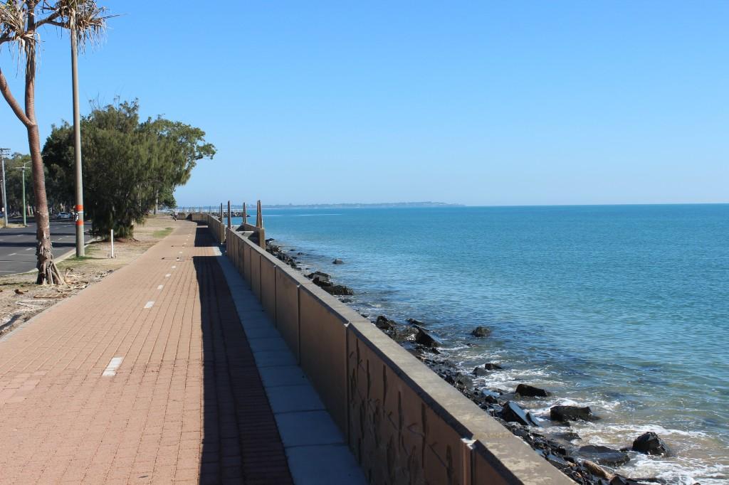 Cycling Path along The Esplanade