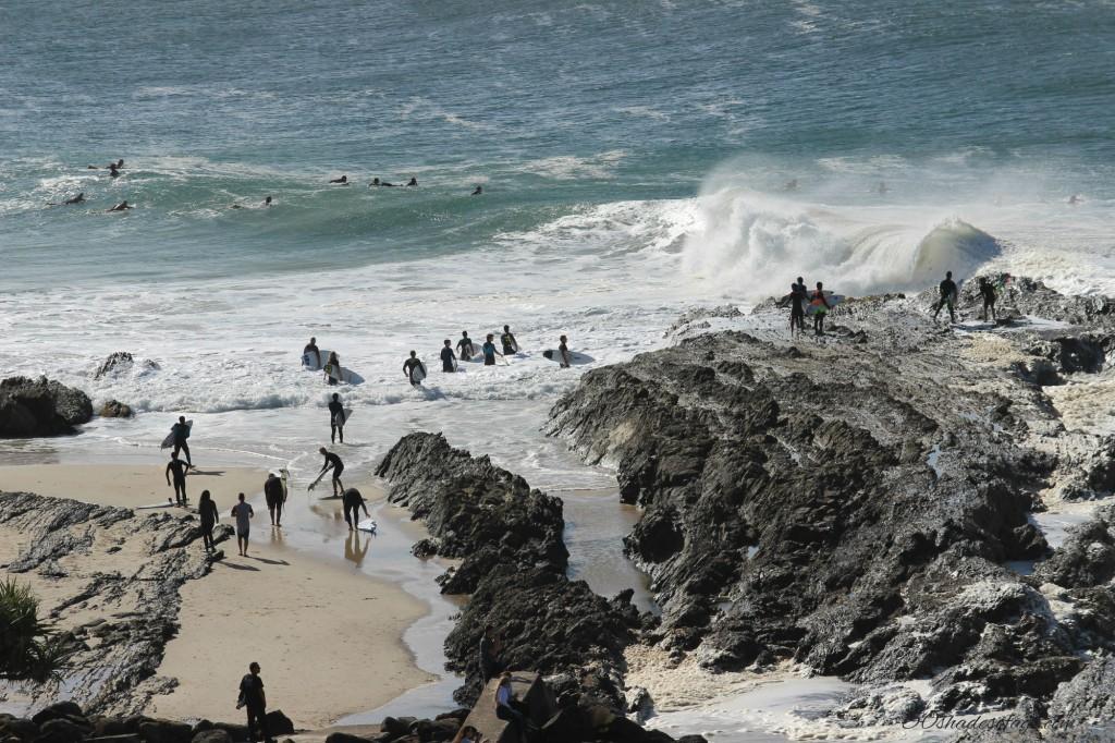 Pumping Surf at Snapper Rocks