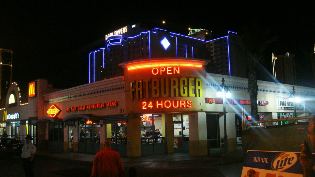 One of the Burger Restaurants, Las Vegas