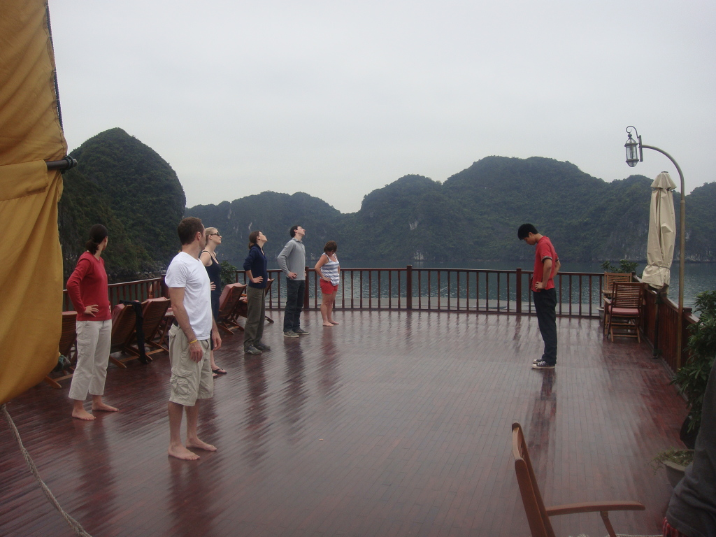 Tai Chi on the Sundeck