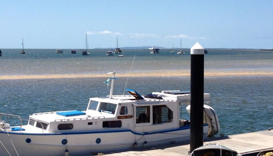 Boat Mooring on The Broadwater