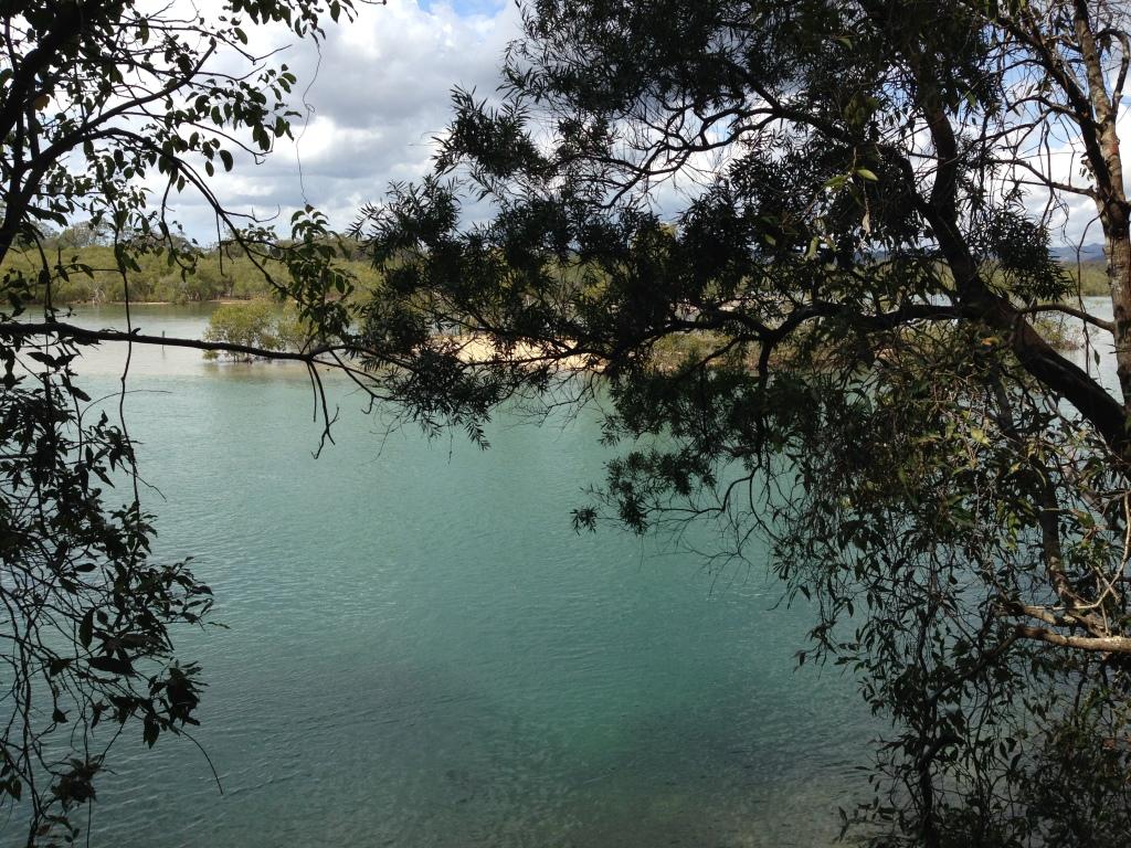 Views of Tallebudgera Creek from Boardwalk