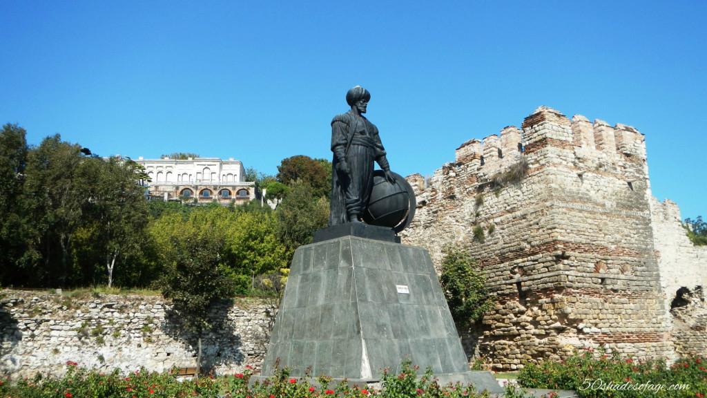 Ottoman Sultan Statue