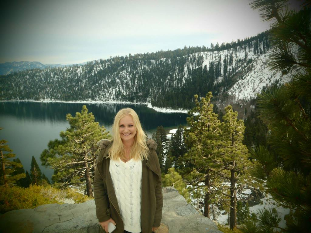 Backpacker daughter somewhere in the USA