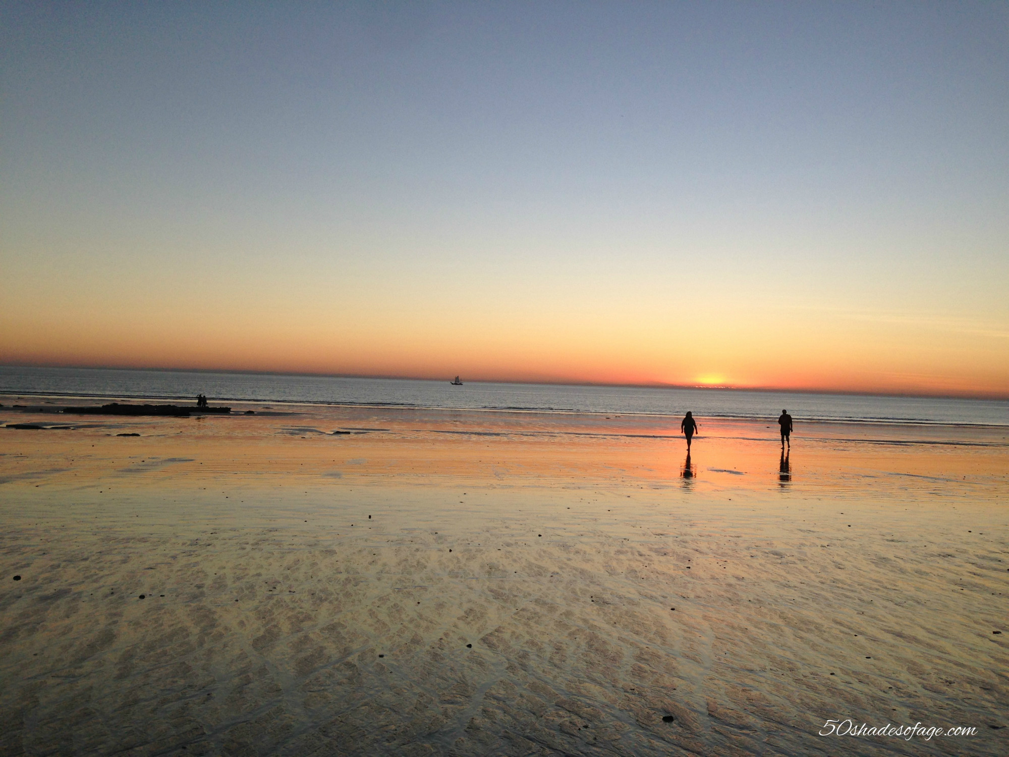 Cable Beach at Sunset