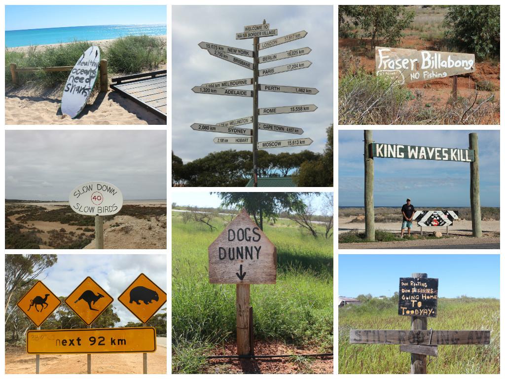 Aussie signs that caught my eye