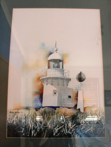 Fingal Lighthouse Painting