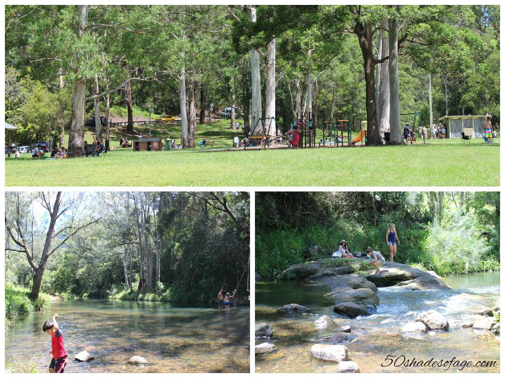 Natural Bridge Park, Numinbah Valley