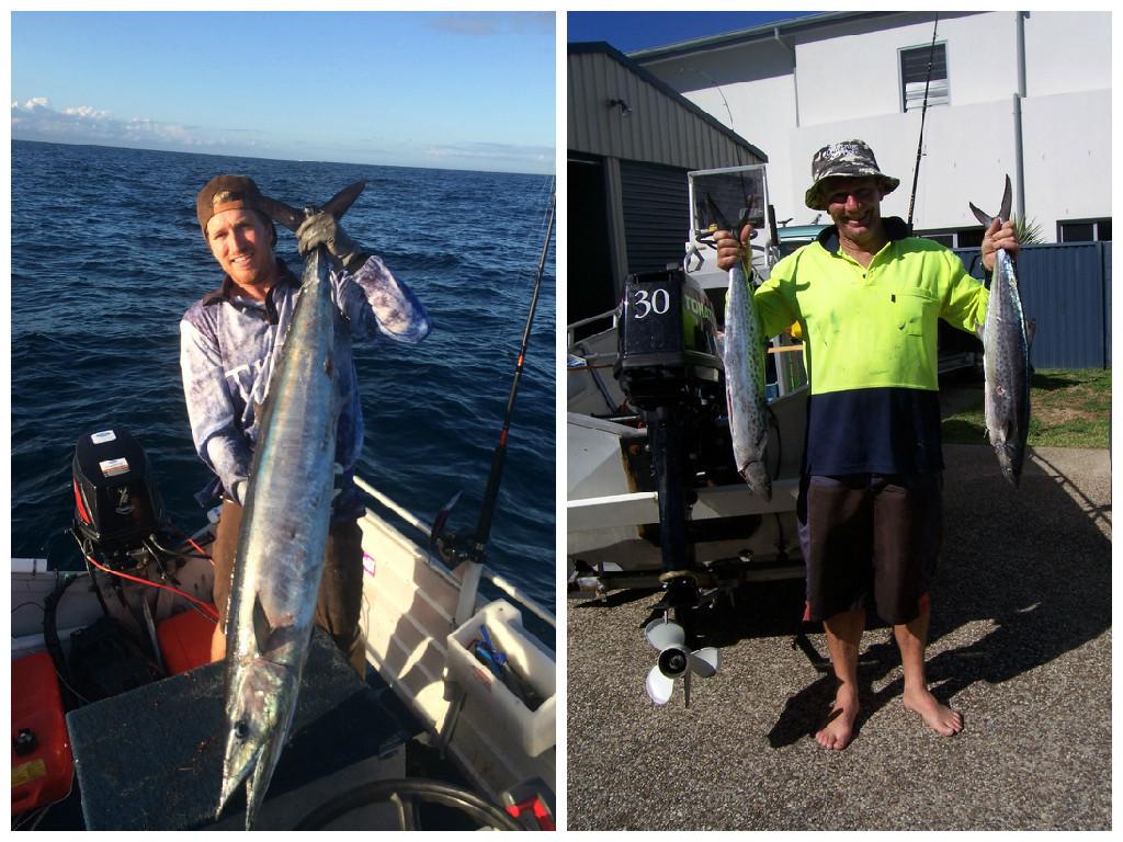 More fish! A massive Wahoo and a couple of Mackerel
