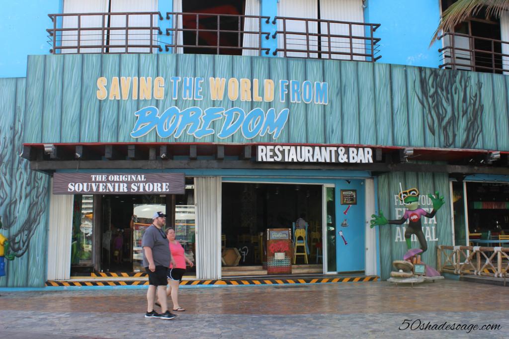 Shop in San Miguel, Cozumel