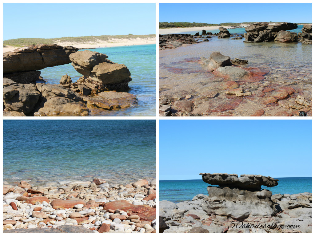 Rock Formations at Quondong Beach, Cape Leveque