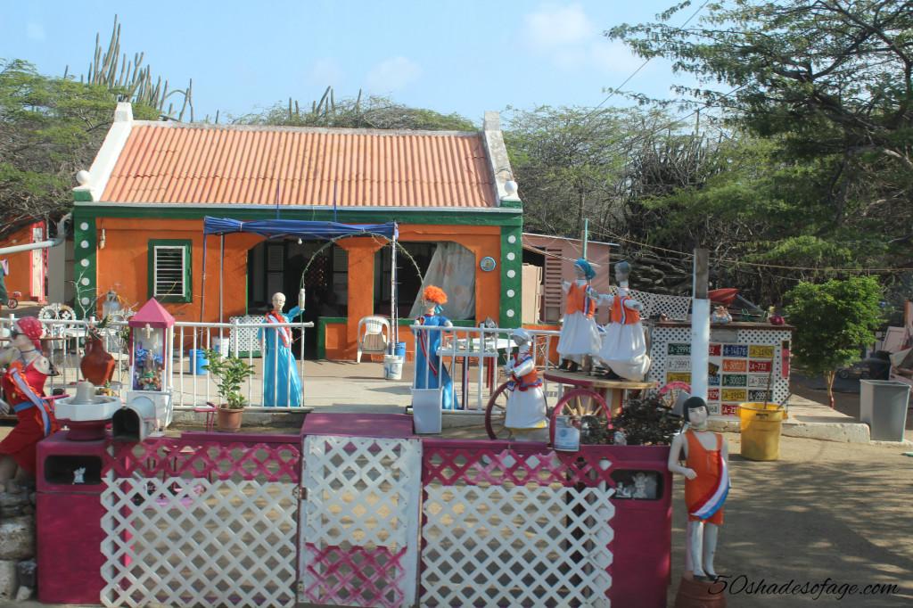 Interesting looking home in Aruba