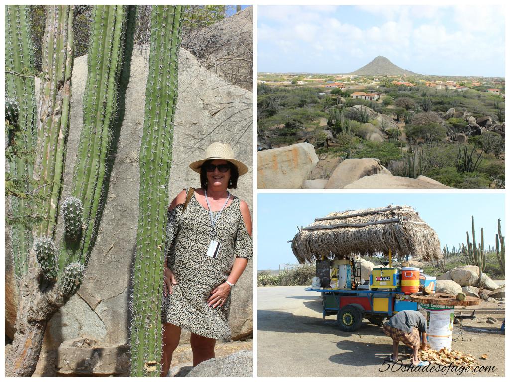Casibari Rocks in the centre of Aruba