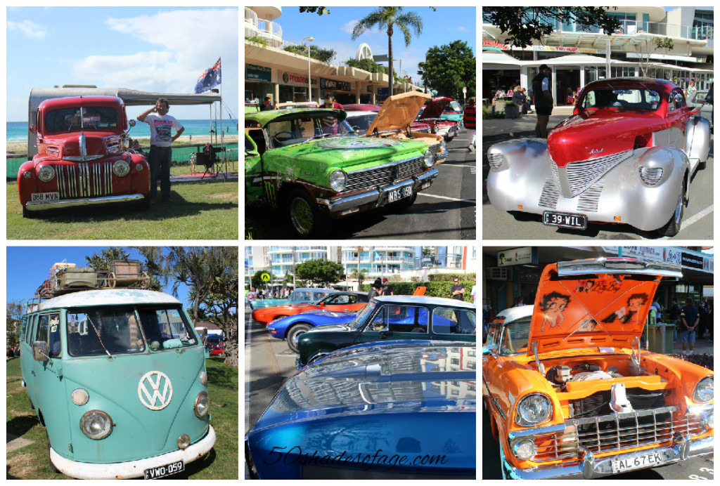 So many classic and vintage cars