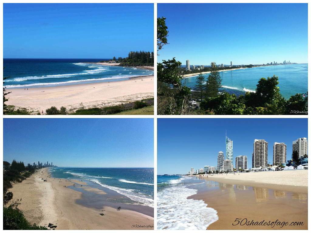 Coolangatta, Burleigh Heads, Miami & Surfers Paradise Beaches