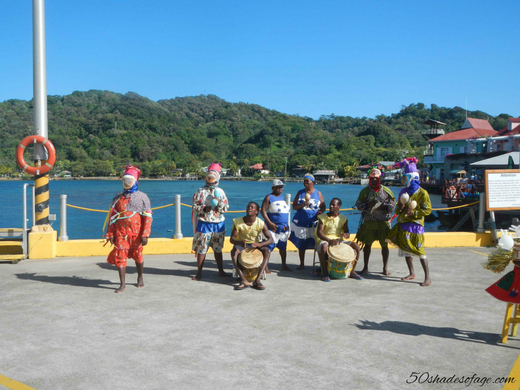 Welcome into the Port at Coxen Hole, Roatan