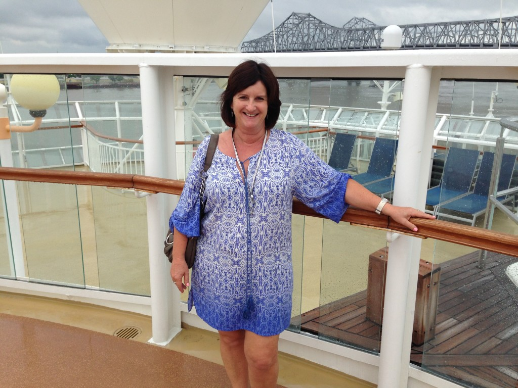 On the Cruise Ship in New Orleans