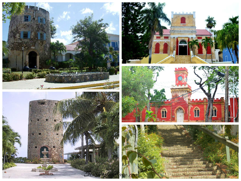 Historical Attractions in Charlotte Amalie, St Thomas
