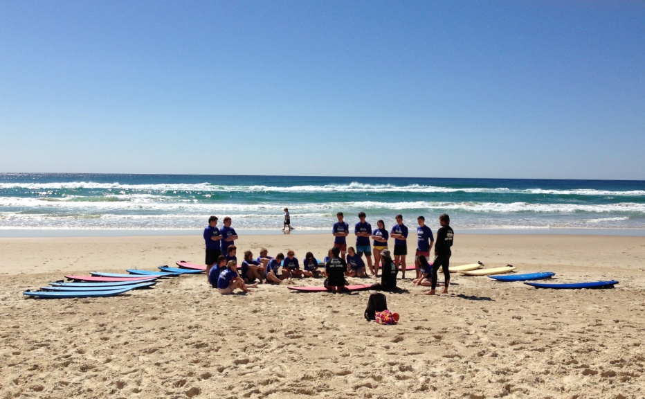 Learning to Surf at Burleigh Heads