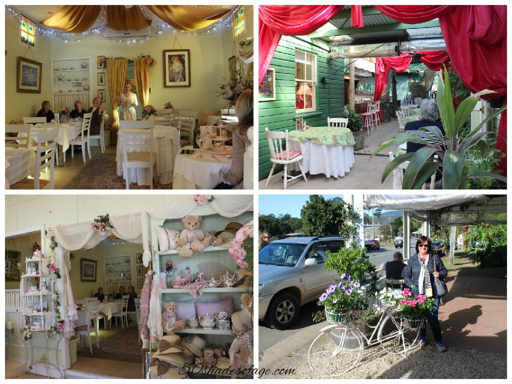 Flutterbies Cottage Cafe in Tyalgum