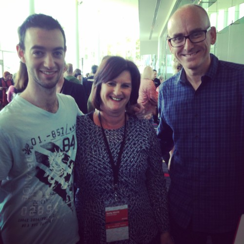 Mr and the two geeks - Brandon Cowan & Darren Rowse
