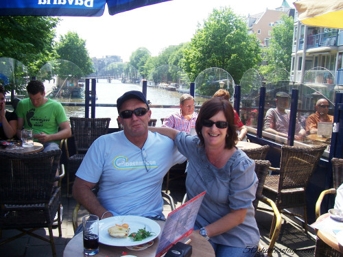 Amsterdam Cafe on the Canals