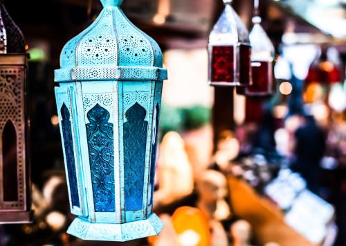 Traditional Arabian Lamp, Dubai Markets