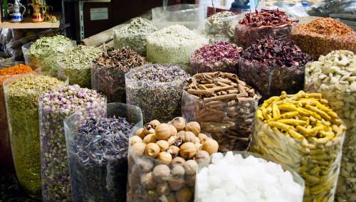Peppercorns in Dubai Market