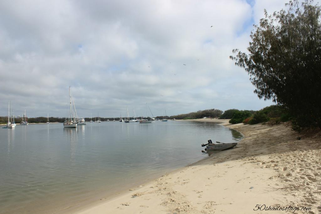 Southport Broadwater Sandy Beach