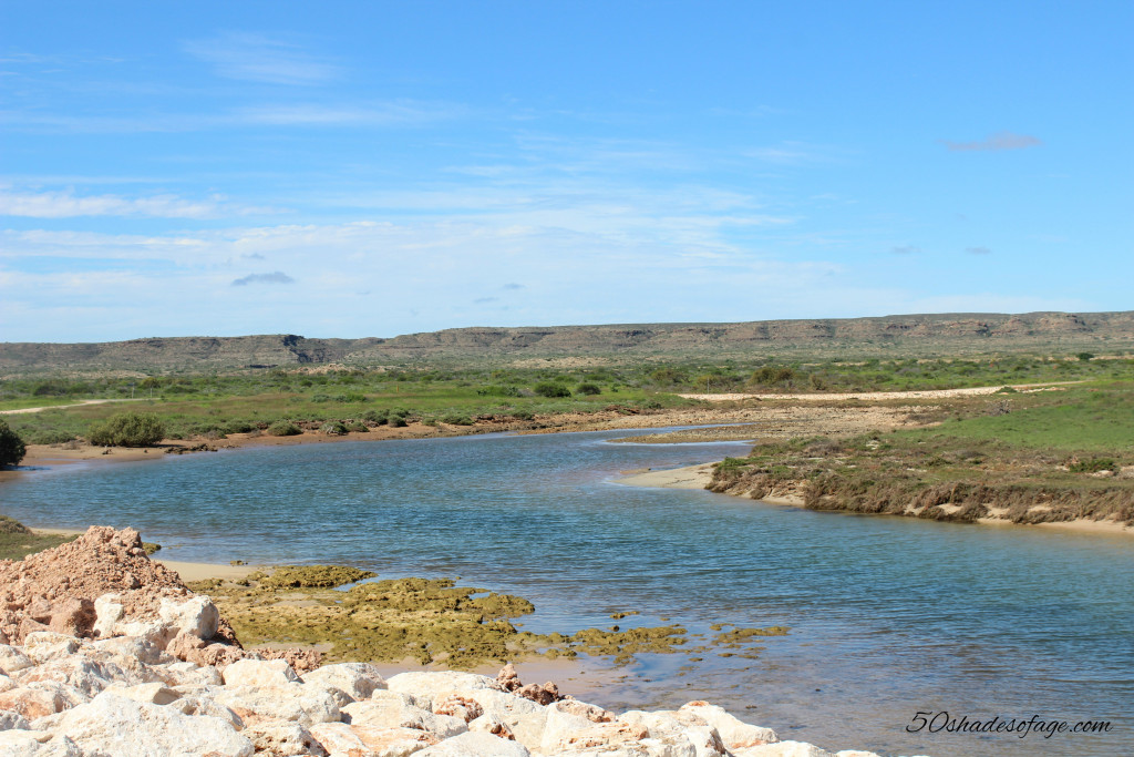 Creek at Cape Range National Park