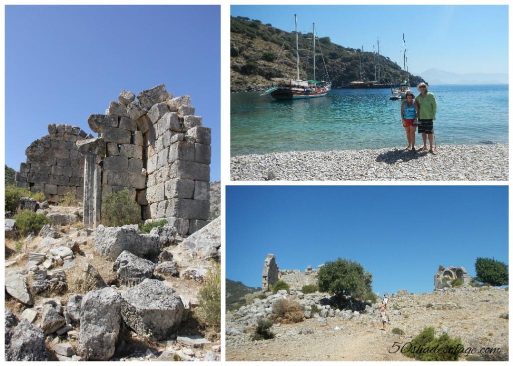 Ruins at Island