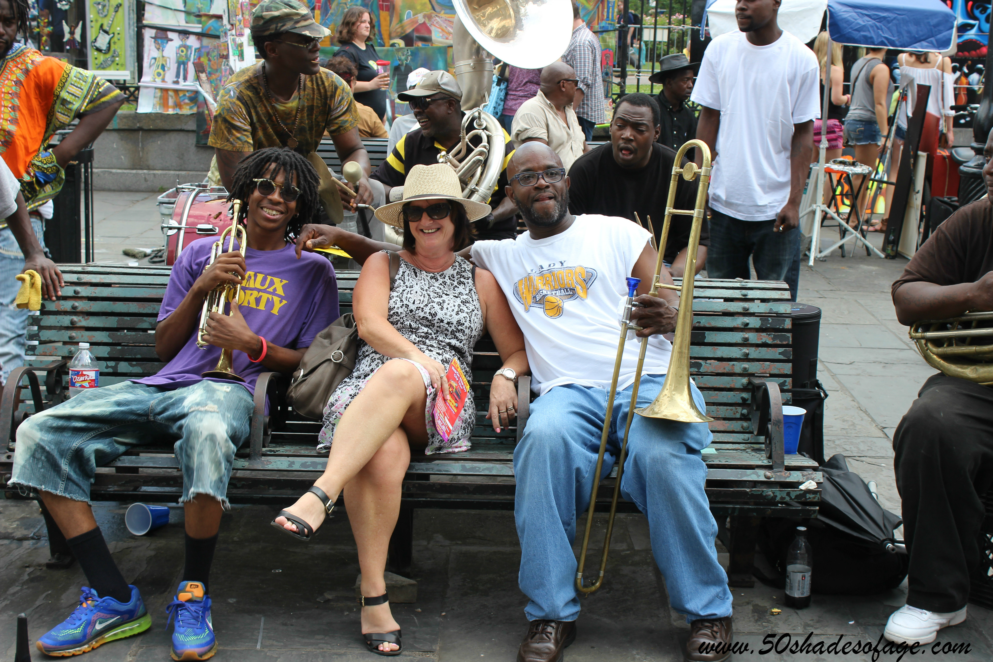 Getting amongst the Jazz on the streets of New Orleans