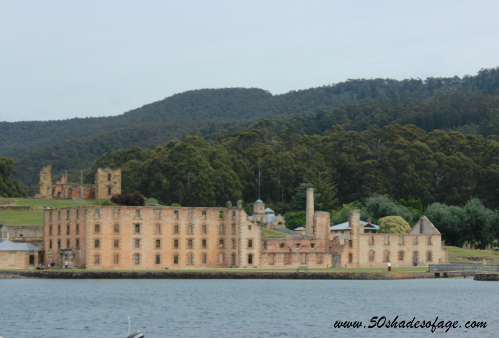 View of Port Arthur from the Harbour