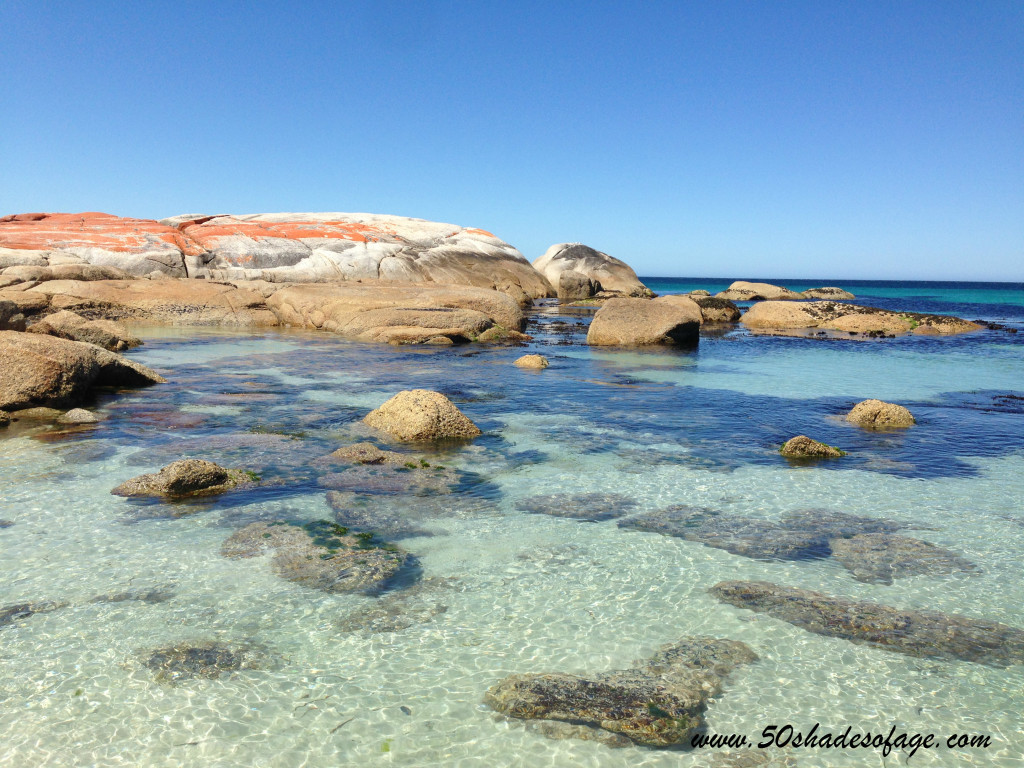 Bay of Fires Beach at Cosy Corner
