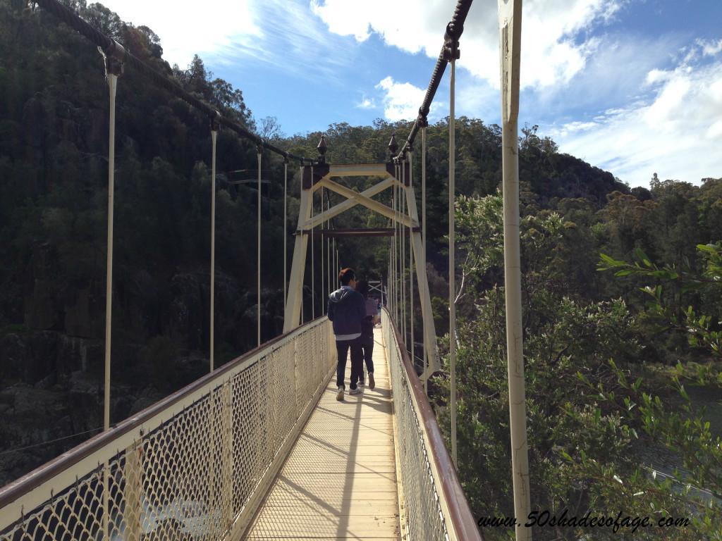 Cataract Gorge Swing Bridge