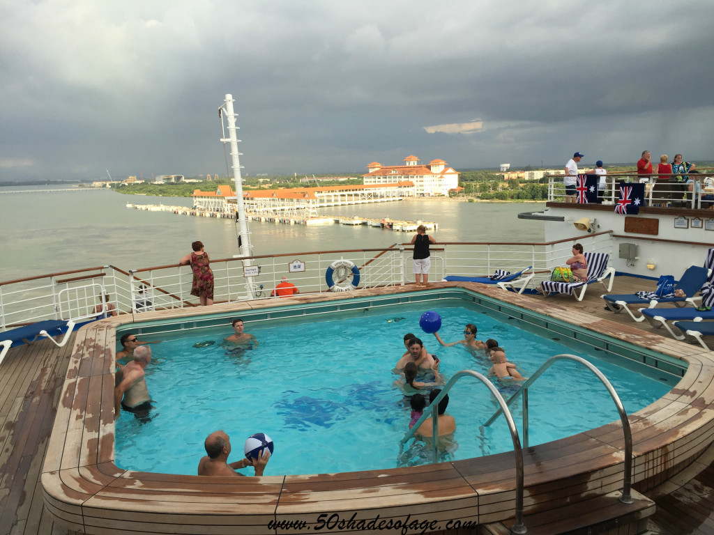 Departing Port Klang Malaysia on Australia Day