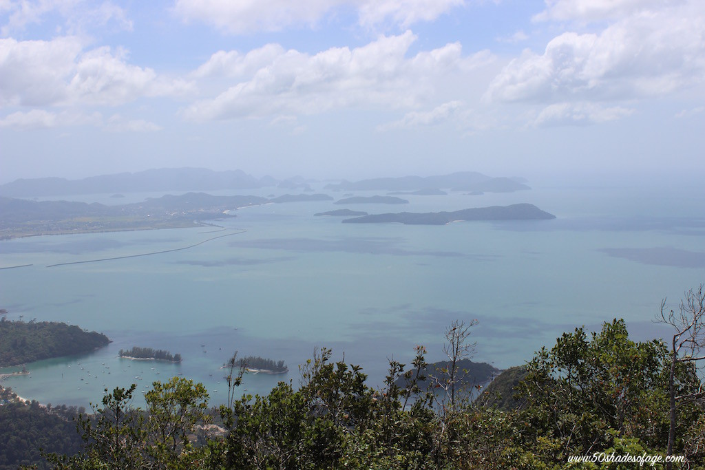 Views from top of Langkawi