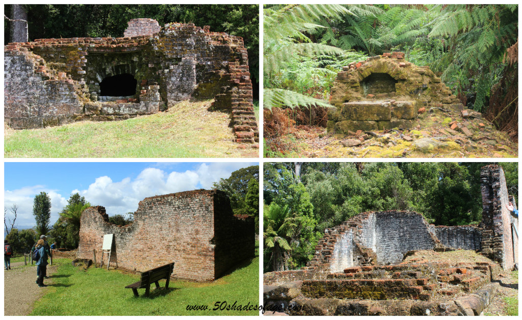 Convict Ruins at Sarah Island