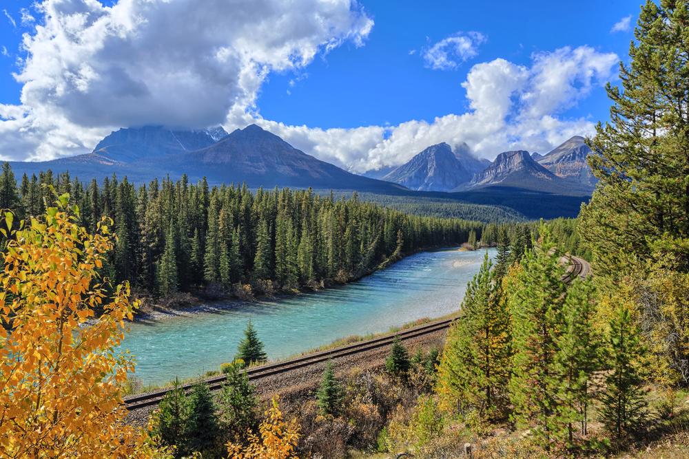 Bow Valley Banff