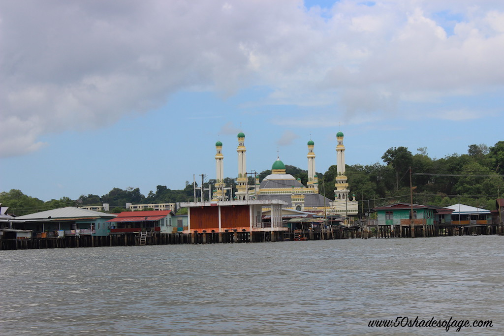 Mosque on Brunei River